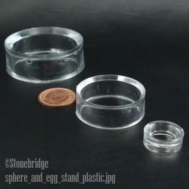 plastic stand for sphere