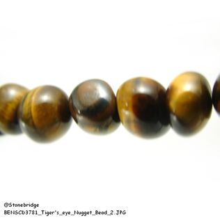 Tiger's eye Type #1- Nugget Bead
