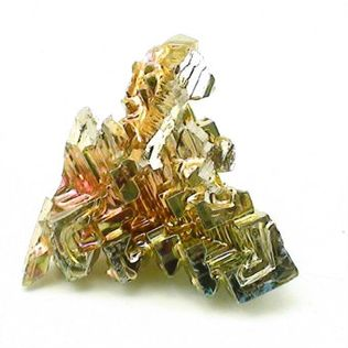 "Bismuth Crystal (lab grown) Size #1 - 1/2"" to 1"""