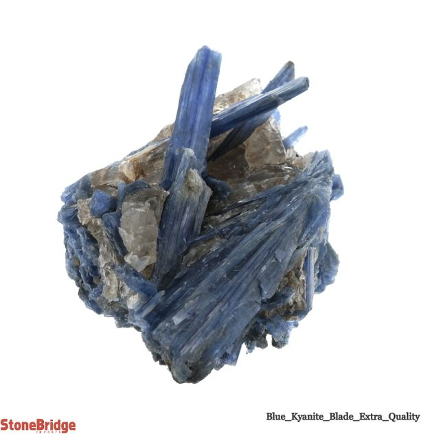 """Blue Kyanite Cluster """"Extra Quality"""" Size #5 - 200g to 399g"""
