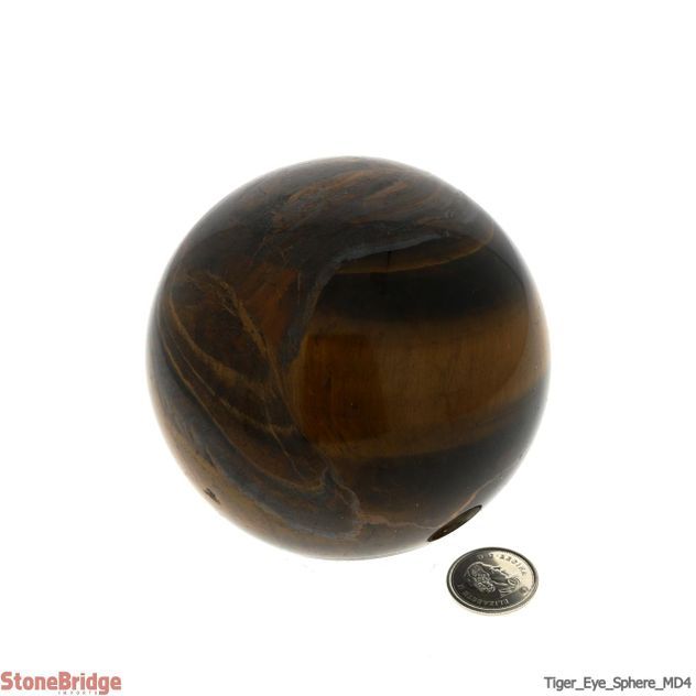 Tiger Eye Sphere - MD4