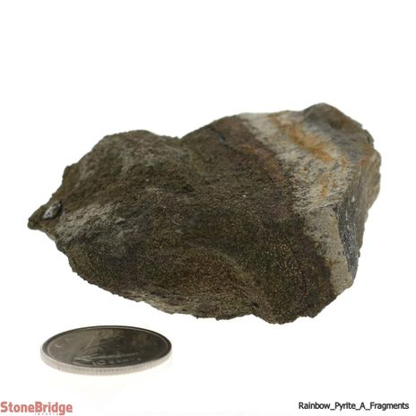 Rainbow Pyrite Geode Fragment - Quality A - Size #3