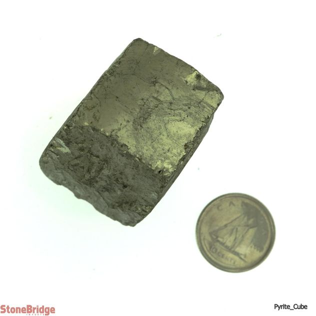 Pyrite Crystal Cube