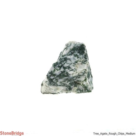 Tree Agate Chips - 500g