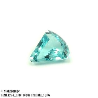 Blue Topaz Trilliant