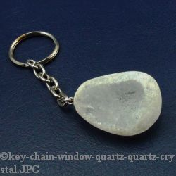 Window Quartz Key Chain