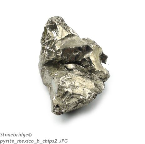 "Pyrite Chips Peru ""B Quality"" Medium - 500g Bag"
