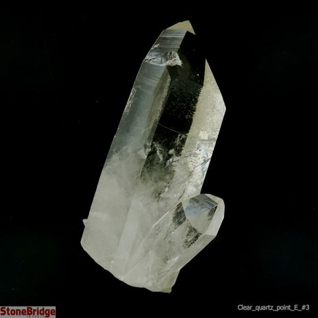 "Clear Quartz ""Extra Quality"" Single Point #3 - 200g to 399g"