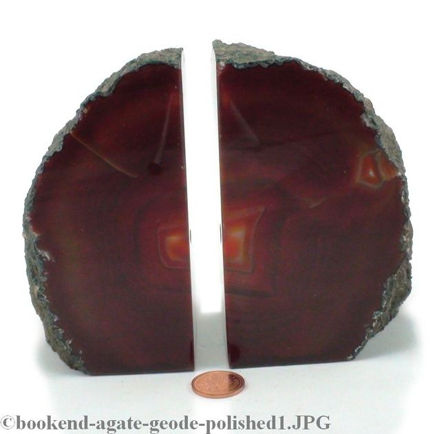 "Agate Geode Bookend - X-Small - 3"" to 5"" tall"