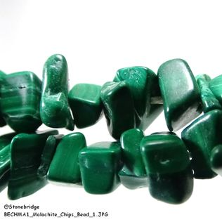Malachite - Chips Bead