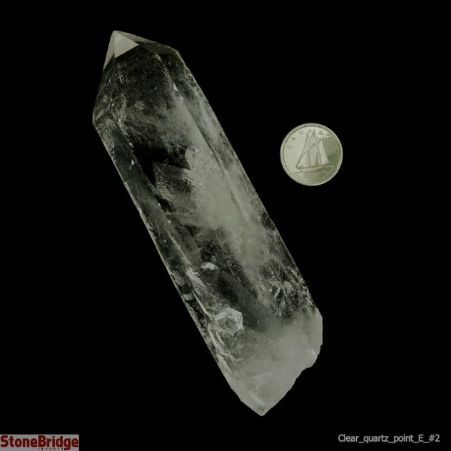 "Clear Quartz ""Extra Quality"" Single Point #2 - 100g to 199g"