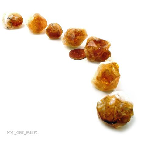 Citrine Point - Small (8 to 12 pieces)