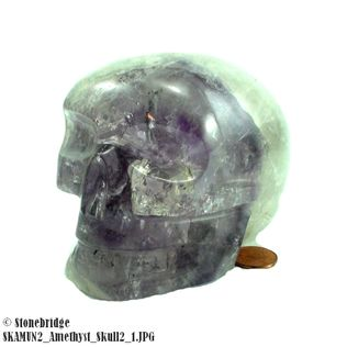 Amethyst Skull Unique #2