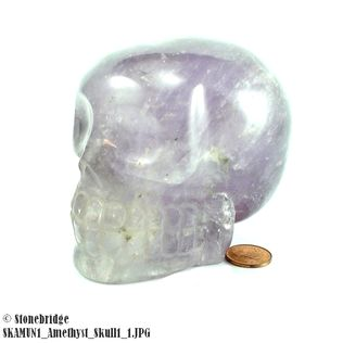 Amethyst Skull Unique #1