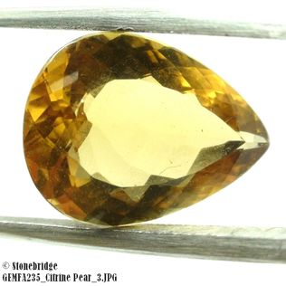 Citrine Pear GEMFA235