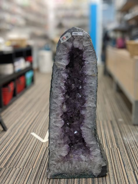 "Amethyst Cathedral - Unique #92 - 32 1/4"" tall"