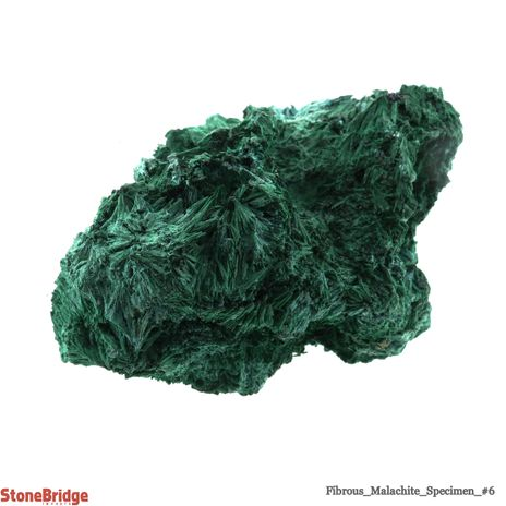 Fibrous Malachite Crystal - Size #6 - 300g to 400g