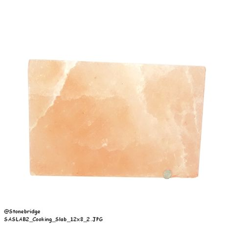"Himalayan Salt Plate - Cooking Slab - 12"" x 8"" x 1.5"""