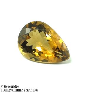 Citrine Pear GEMFA239
