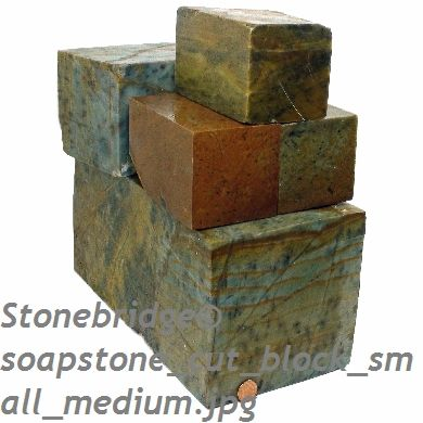 Soapstone for Carving - Blocks - 44,000lb container load
