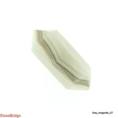 Grey Aragonite Double Terminated Wand - MD1 -