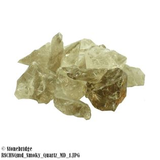 Smoky Quartz Chips - 500g bag - Medium