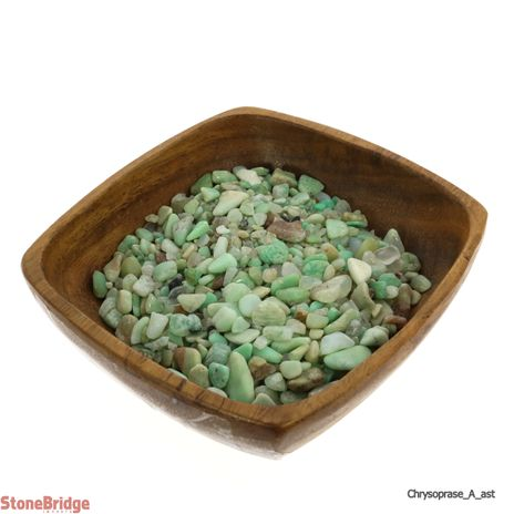 """Chrysoprase A Tumbled Stone - Assorted Tiny 1/8"""" to 3/4"""""""