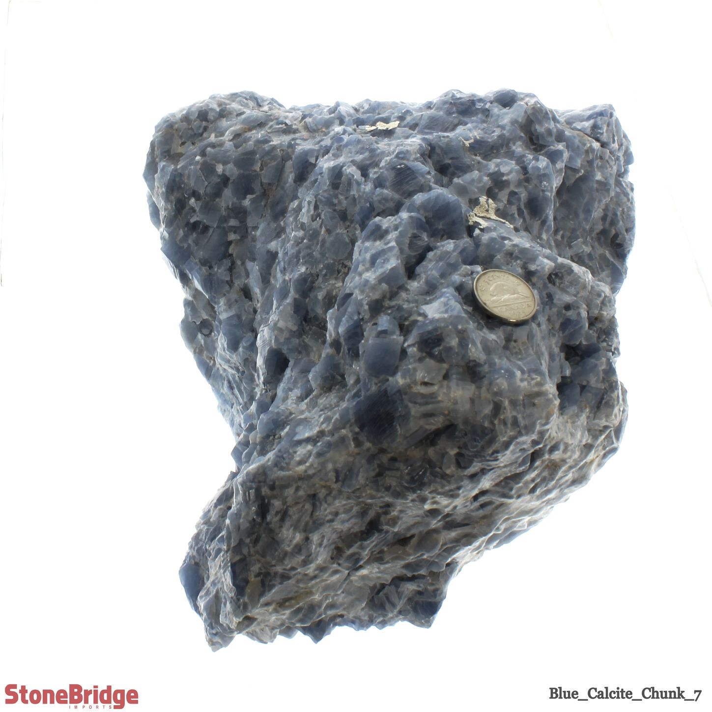 Blue Calcite Chunk Size #7 - 10kg to 15kg
