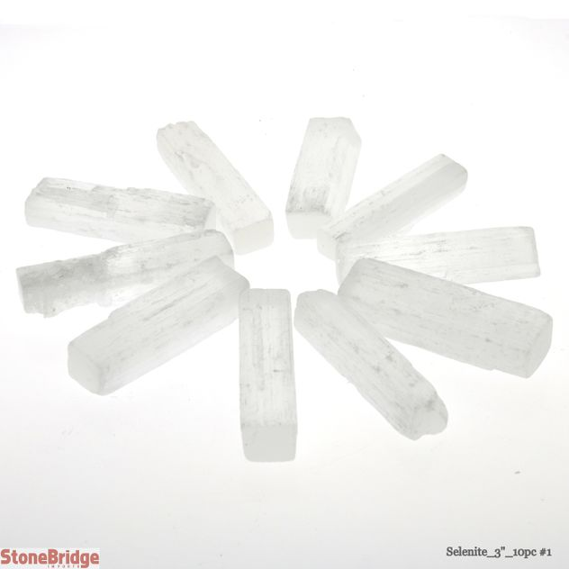 Selenite Stick pack of 10