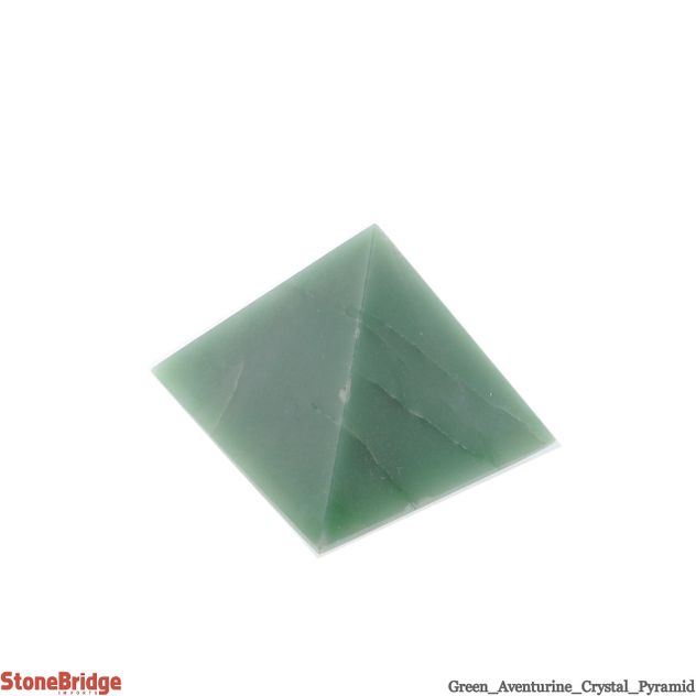 "Green Aventurine Pyramid - Size #4 - 2"" to 2 1/4"""