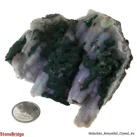 Malachite Botryoidal Crystal - Size #2 - 100g to 200g
