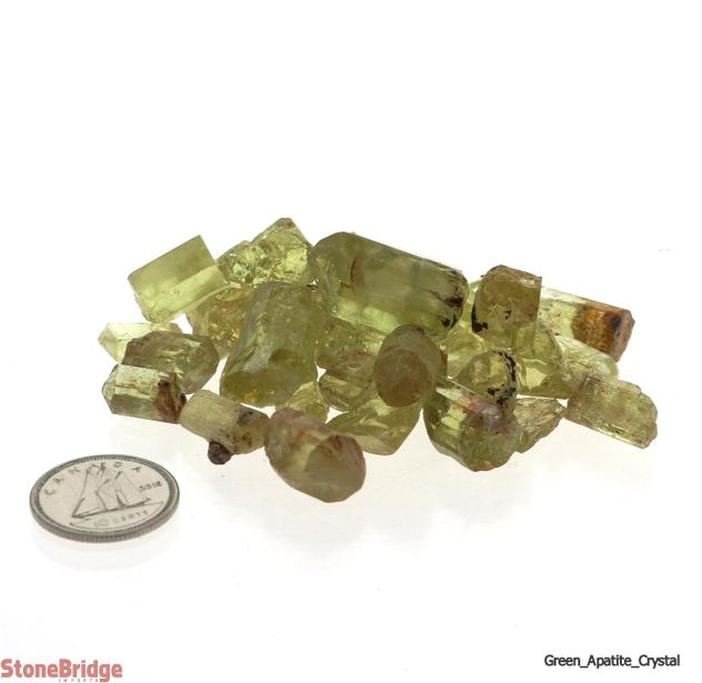 Apatite Green Crystal Gem Grade