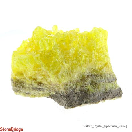 Sulfur Cluster on Matrix - Size #3 - 80g to 130g