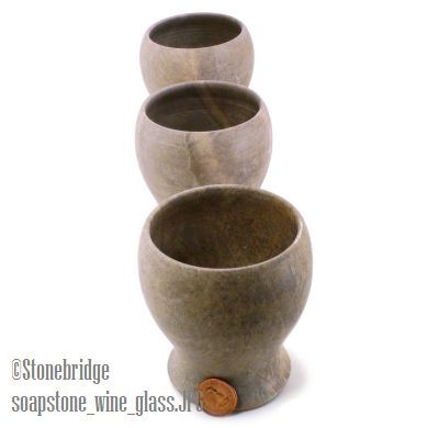 Soapstone Cup Wine Cup