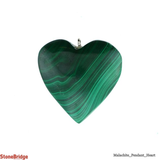 Malachite Heart - Pendant