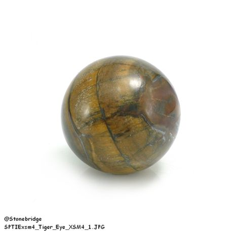 Tiger Eye Sphere - X-Small 4
