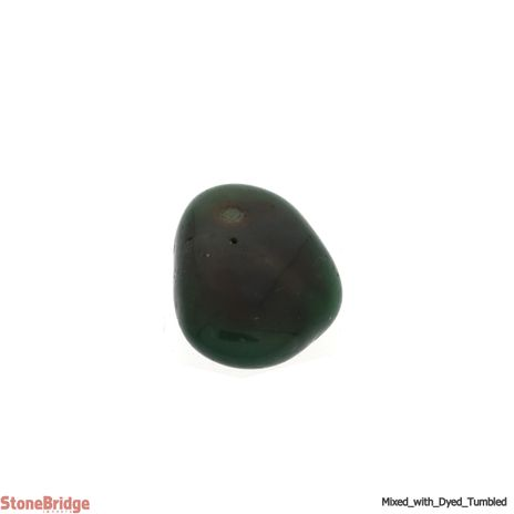 Mixed Tumbled Stone (contains dyed agate) - Assorted Sizes