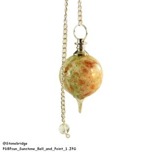 Sunstone Ball and Point Pendulum