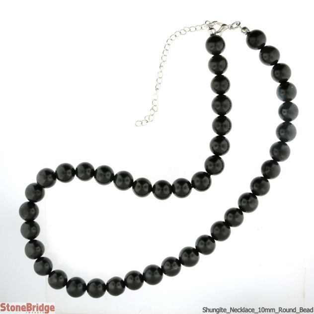 Necklace Shungite - 10mm