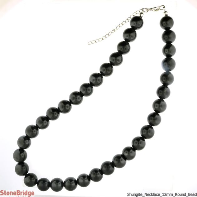Necklace Shungite - 12mm