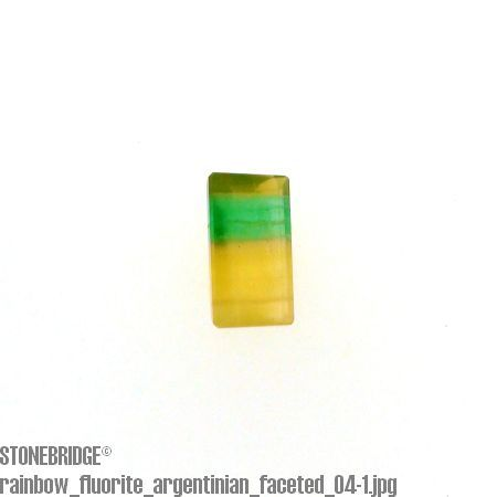 Rainbow Fluorite Faceted Cabochon #4