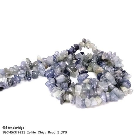 Iolite - Chips Bead