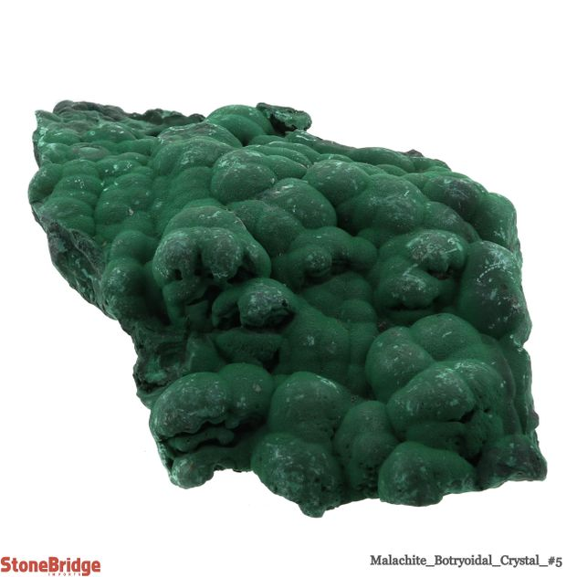 Malachite Botryoidal Crystal - Size #5 - 400g to 500g