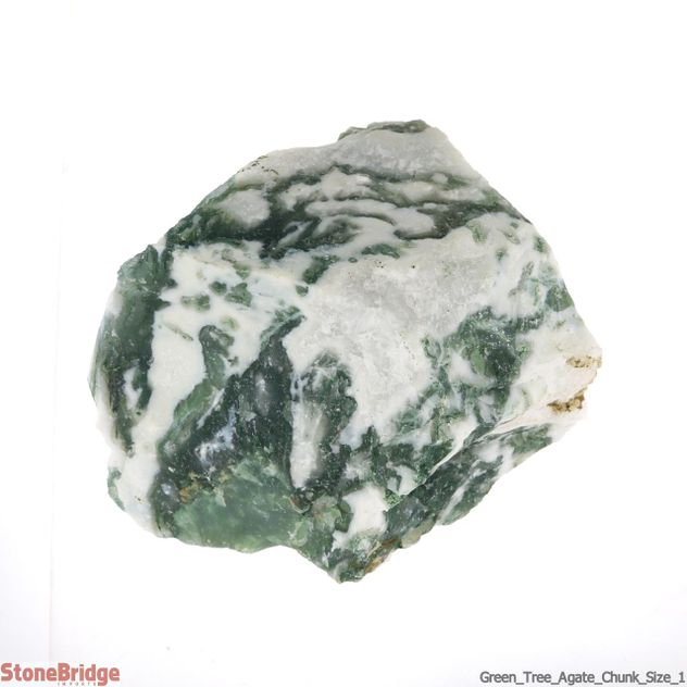 Green Tree Agate Chunk Size #1