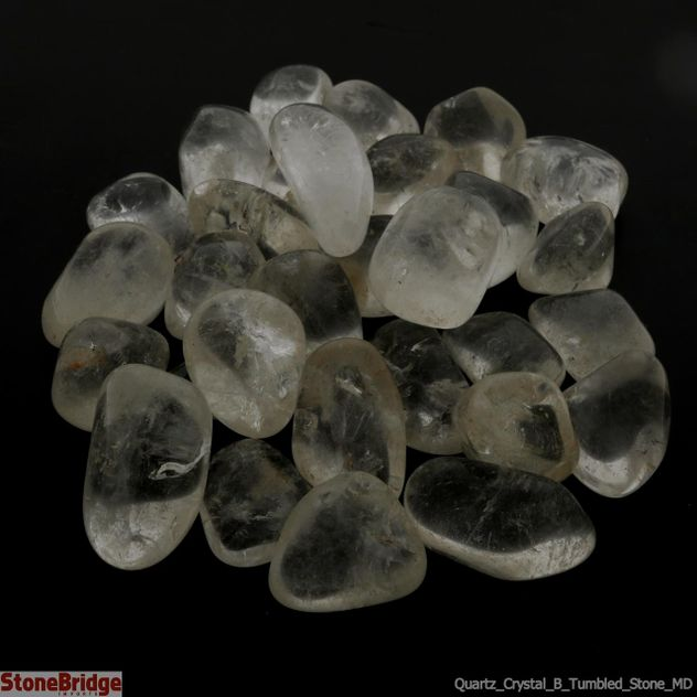 Quartz Crystal B Tumbled Stone