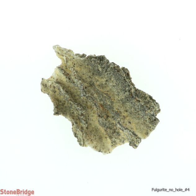 Fulgurite (Petrified Lightning) no hole
