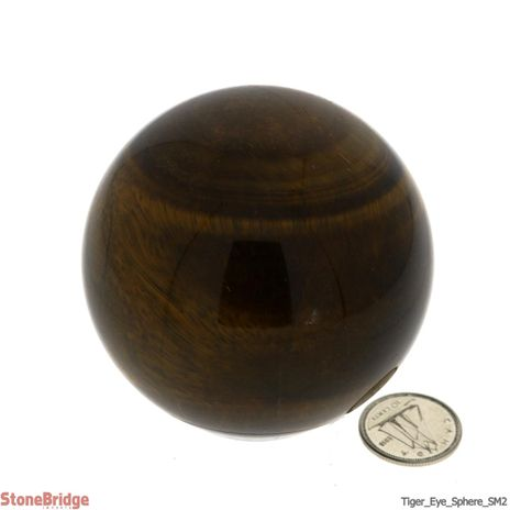 Tiger Eye Sphere - SM2