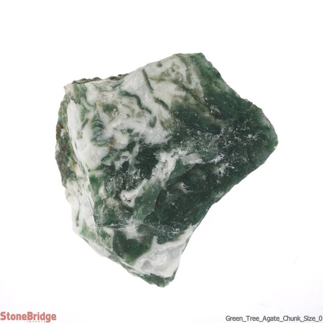 Green Tree Agate Chunk Size #0
