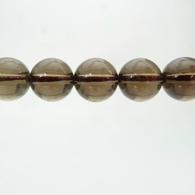 Smoky Quartz - Round Bead