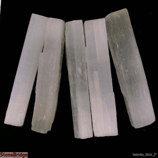 Selenite Satin Stick